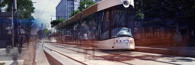 Tramway à la Joliette