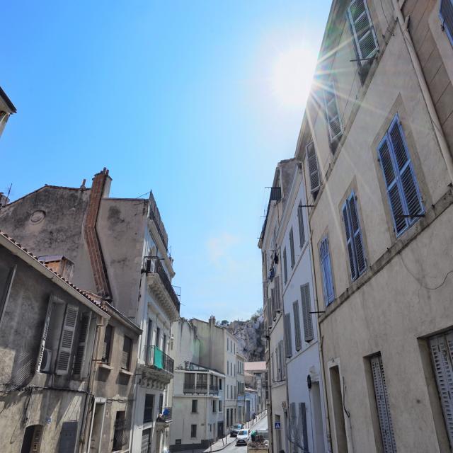 Rue dans le quartier Vauban