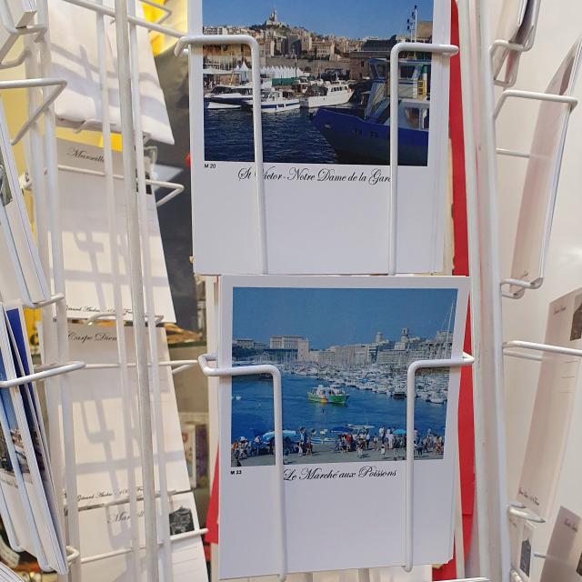 carte postale de la Boutique de Office de Tourisme de Marseille