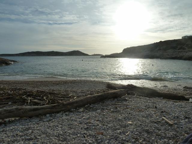 plage de la Calanque De Marseilleveyre