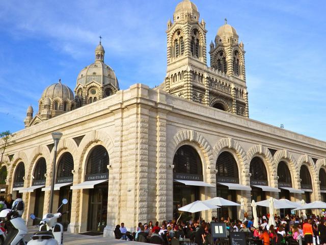 Les voutes de la Major à Marseille