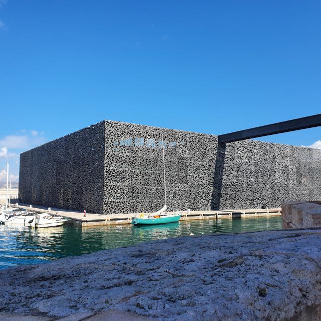 Mucem Marseille, passerelle