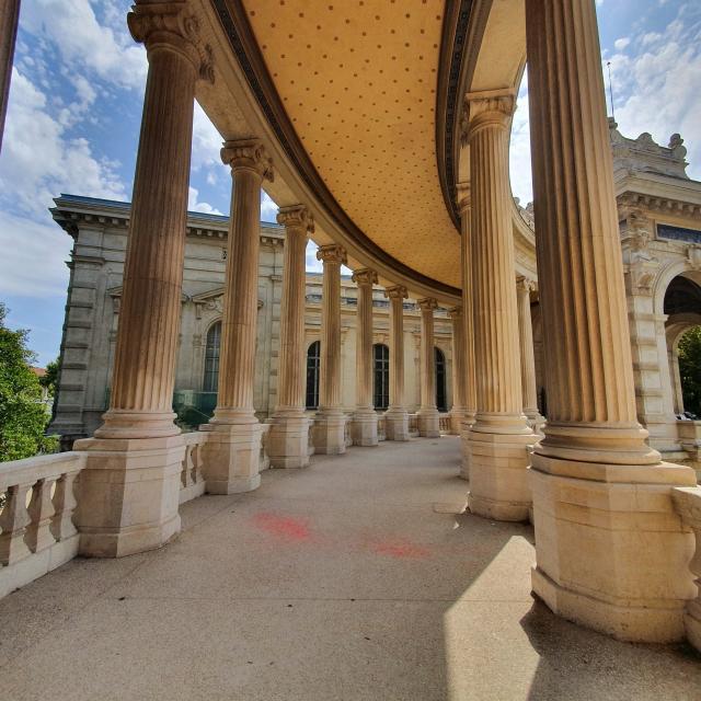 Palais Longchamp colonnes