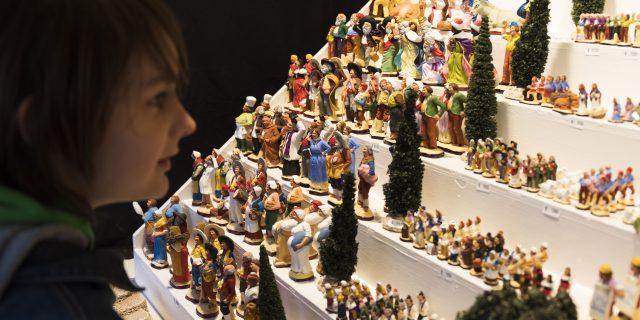 Foire aux santons, Noel à Marseille, détail sur les santons