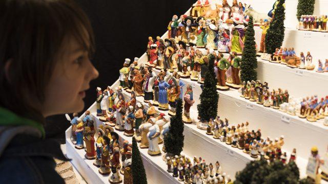 Vieux Port, Fêtes De Noël, Foire Aux Santons©lamyotcm