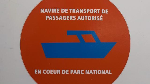 Autocollant Autorisation Parc National