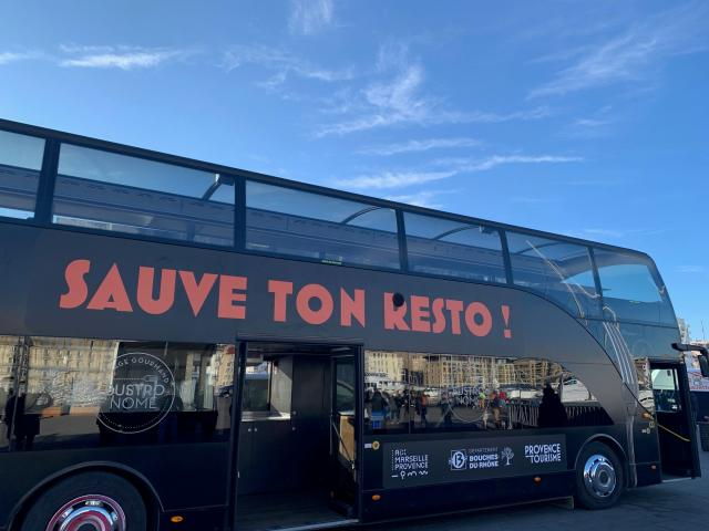 Bus Sauve ton resto @myprovence