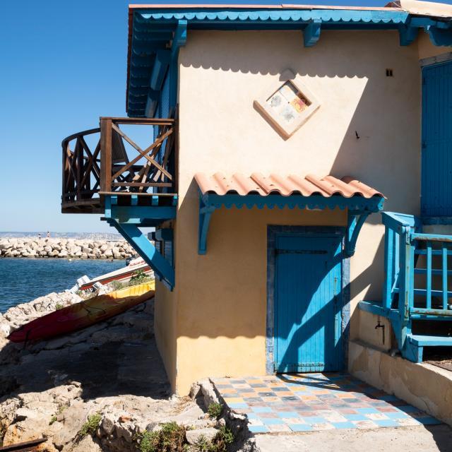 Jolie maison du village des Goudes