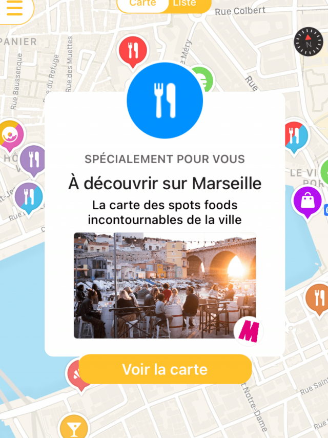 Carte Mapstr @Choosemarseille