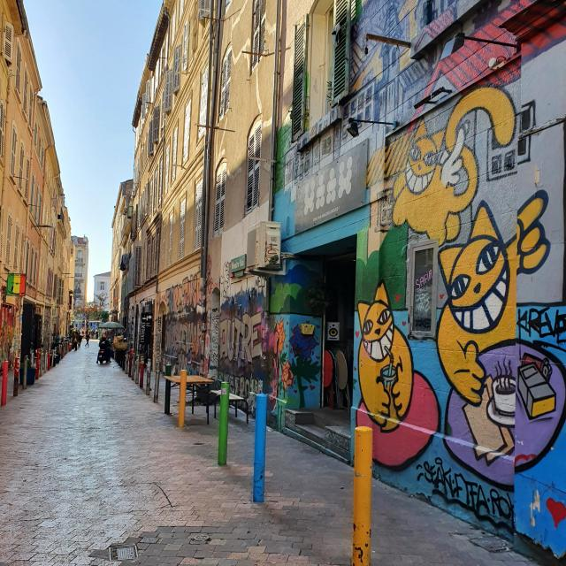 Visite Street Art Cours Julien @ctomtcm