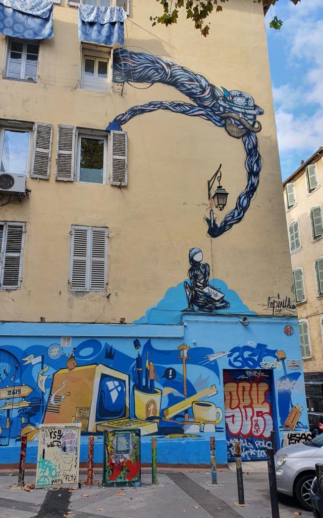 Mur Cours Julien Street Art