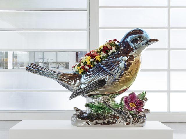 Bluebird Planter oeuvre de Jeff Koons