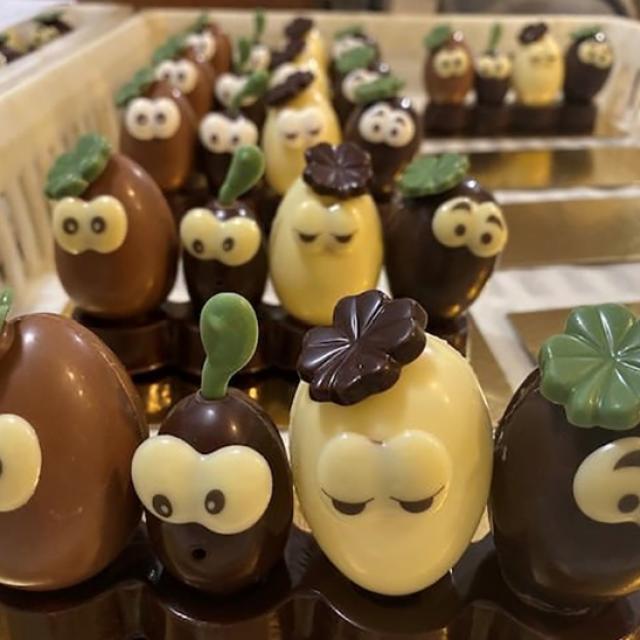 chocolats de pâques de S.Depuichaffray