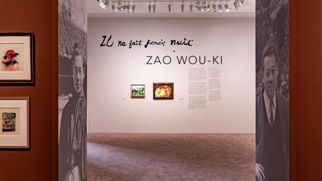 Hotel de caumont exposition Zao Wou-ki @Eric Spiller (c) Adagp, Paris, 2021