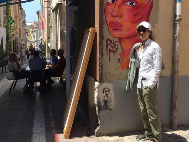 Mick Jagger, Panier Marseille©compteinstagrammickjagger