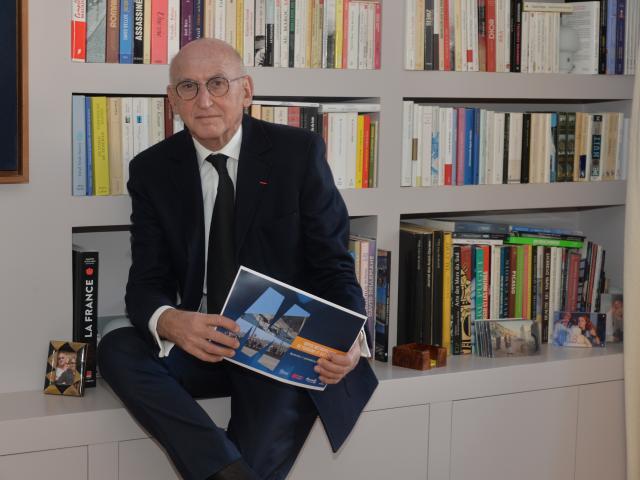 Marc Thepot, président de l'Office Métropolitain de Tourisme et des Congrès de Marseille