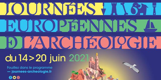 Affiche journées européennes de l'archéologie