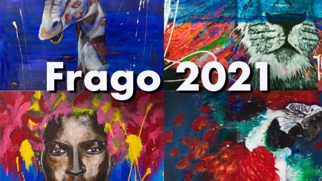Affiche Exposition Frago aux Docks Village 2021