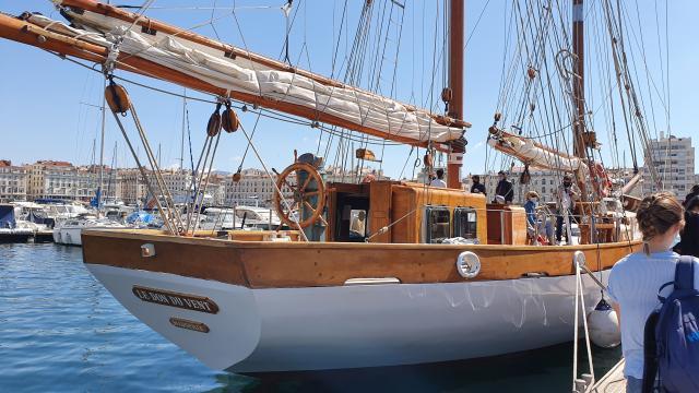 voilier le Don du Vent Marseille