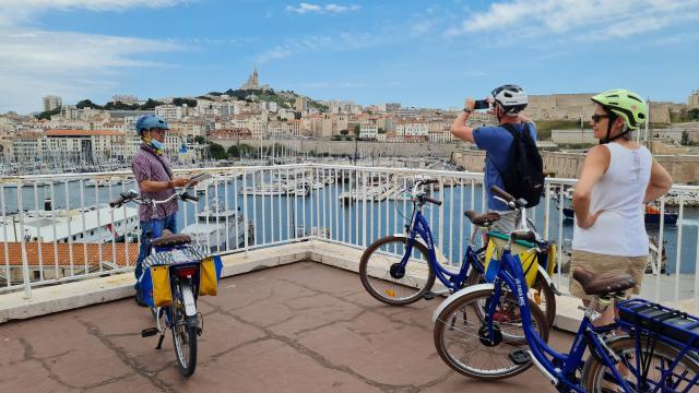 Balade en vélo avec Fada Bike- Esplanade St Laurent à Marseille