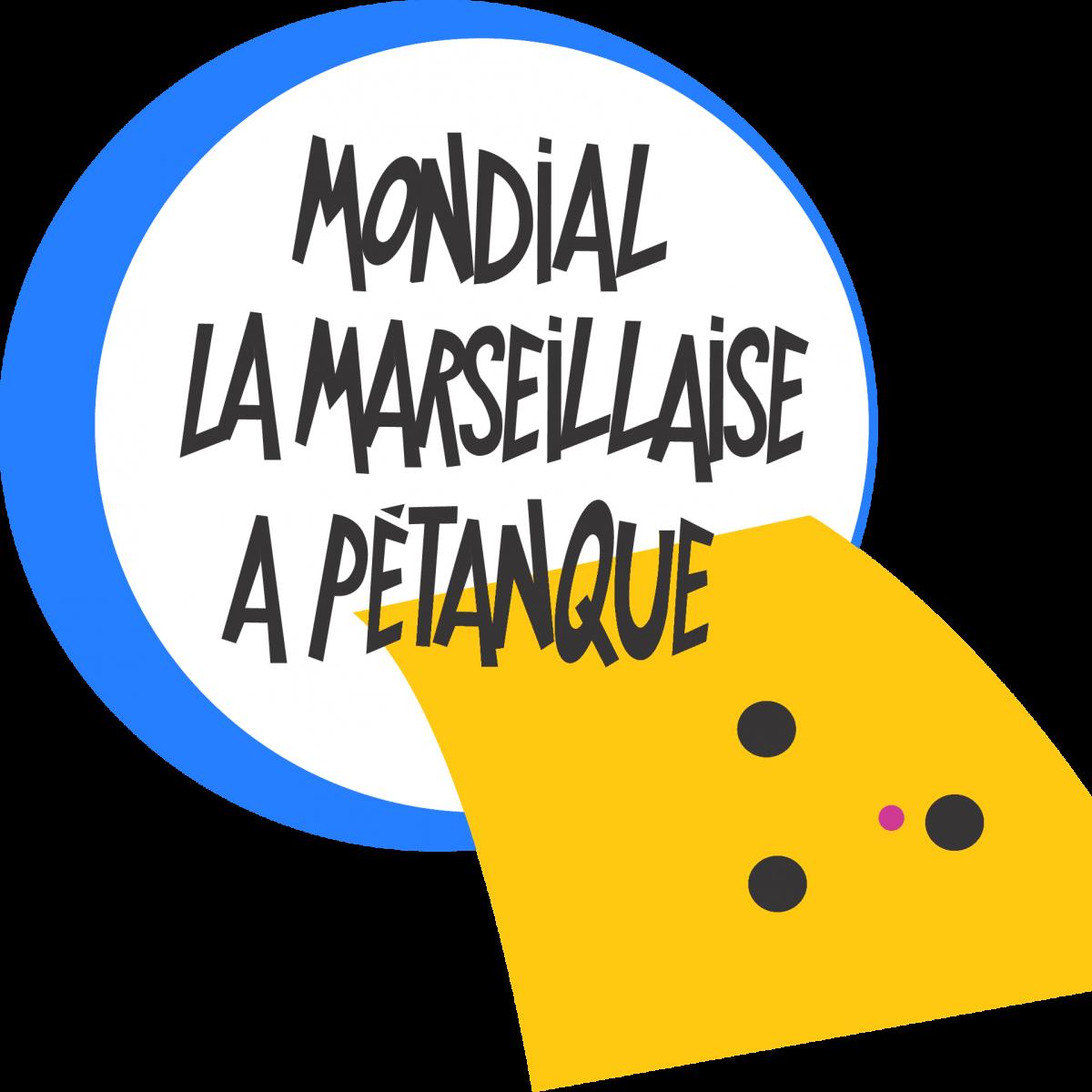 Logo mondial La Marseillaise à Pétanque