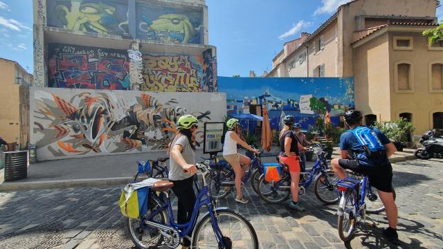 Tour De Marseille En Vélo électrique