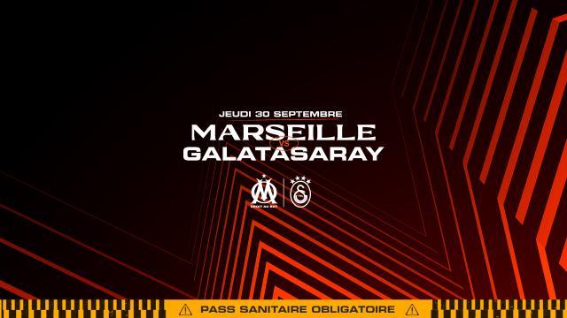 Affiche Om Galatasaray