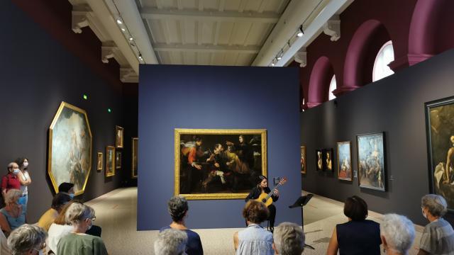 concert de musique classique au musée
