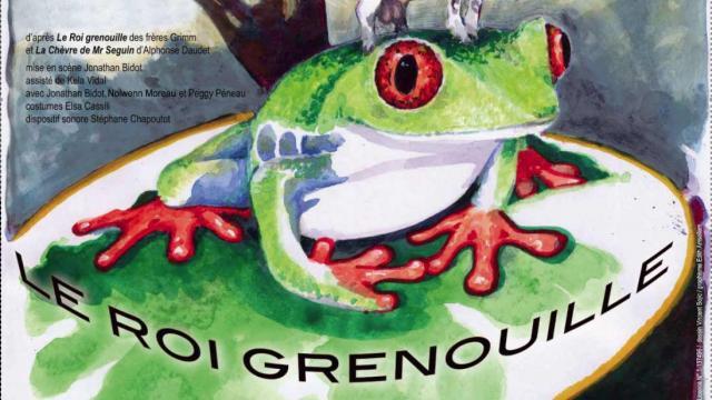 Affiche Roi Grenouille Spectacle Enfant Badaboum Theatre